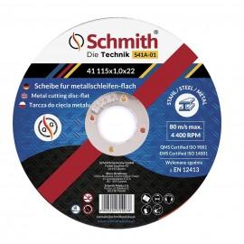 SCHMITH Tarcza Do Cięcia Metalu 230x2,0x22