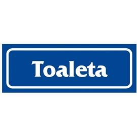 """ANRO Znak Bezpieczeństwa """"Toaleta"""""""