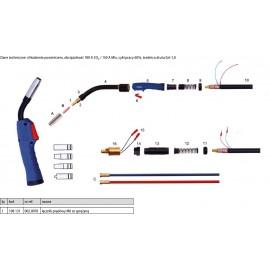 DELTA-TECHNIKA Łącznik Prądowy M6 ze Sprężyną MB15AK