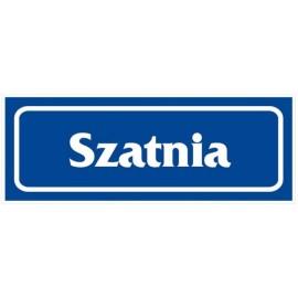 """ANRO Znak Bezpieczeństwa """"Szatnia"""""""