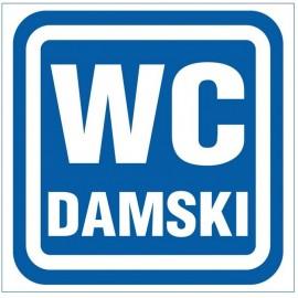 """ANRO Znak Bezpieczeństwa """"WC Damski"""""""