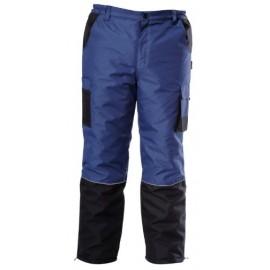 LAHTI PRO Spodnie Ocieplane Niebieskie