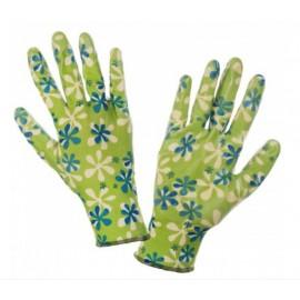 LAHTI PRO Rękawice Nitrylowe Zielone