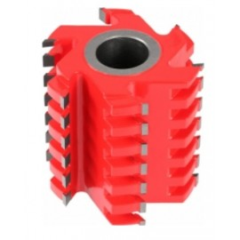 G Frez Strugający Spiralny z 3+3 125x40x125