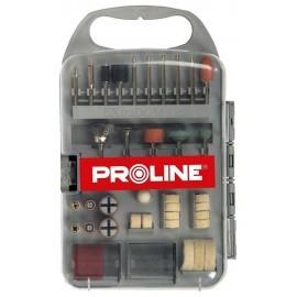 PROLINE Kpl. Akcesoriów do Mini Szlifierki 71szt.